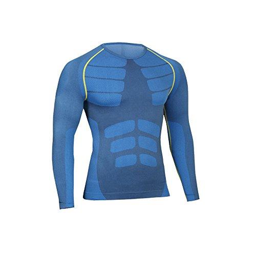 歌市区町村シーサイドLeoSport メンズ 吸汗速乾 長袖 胸筋 着圧スポーツインナー 加圧Tシャツ 筋トレ 筋肉 健康 機能性 骨盤矯正 姿勢矯正 抗菌 防臭 加圧Tシャツ