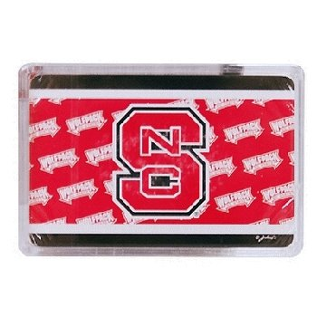 DDI 386512 North Carolina State University Playing Cards - Wrap44; Case of 72
