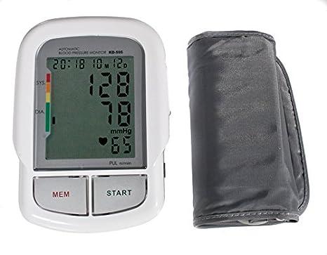 Quirumed 595 - Tensiómetro digital de brazo, con voz: Amazon.es: Salud y cuidado personal
