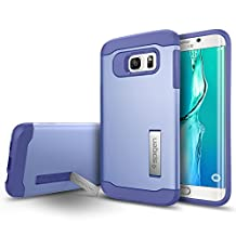 Spigen Slim Armor Galaxy S6 Edge Plus Case with Kickstand and Air Cushioned Drop Protection Slim Case for Samsung Galaxy S6 Edge Plus 2015 - Violet