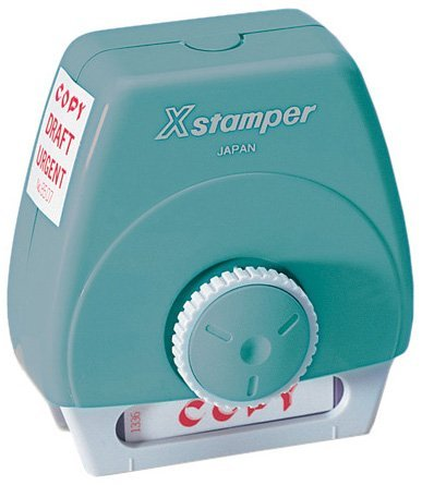 Xstamper 3 In 1 Word Stamp First Second Perfect