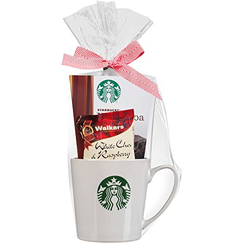 Starbucks Single Mug Cocoa and Cookies Gift Set