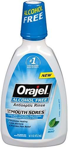 Mouthwash: Orajel Alcohol Free