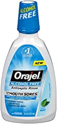 Orajel Alcohol-Free Antiseptic Mouth Sor...