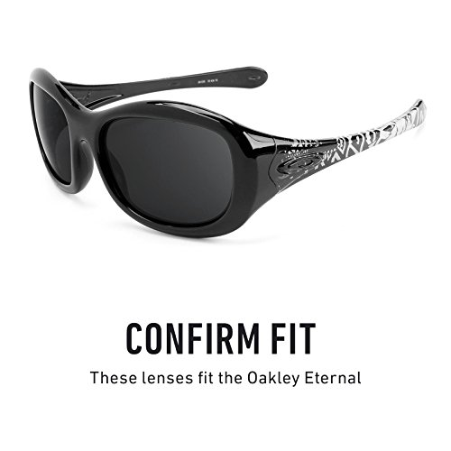 Múltiples Mirrorshield Chrome Elite De Negro — Para Opciones Polarizados Repuesto Eternal Oakley Lentes 0zqUnvz