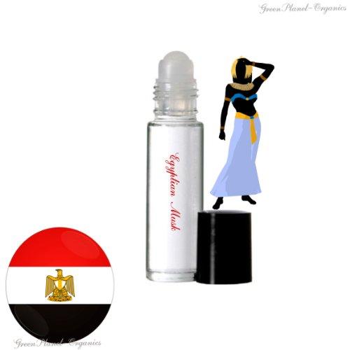 (Set of 2x 10 ML Bottles: Women's Egyptian Musk Perfume)