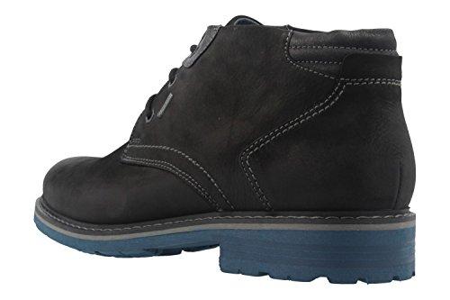 FRETZ MEN - Herren Boots - Scooter - Schwarz Schuhe in Übergrößen