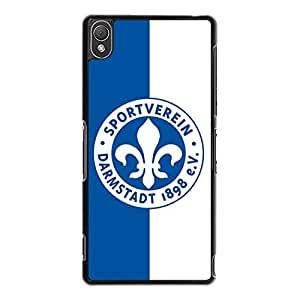 Stylish Style Darmstadt Phone Case Hard PC Cover for Sony Xperia Z3 with FC Team Logo
