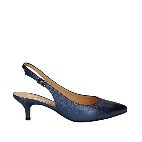 Grace Tacco Blu Shoes Donna Sandalo 867 rUZrxBqw7