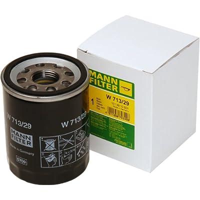 Mann-Filter W 713/29 Spin-on Oil Filter: Automotive