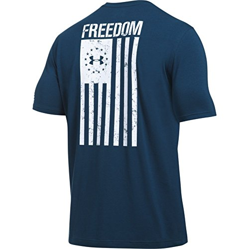 Freedom Mens Navy T Flag Armour shirt Blackout Under 8HvgqzRwxg