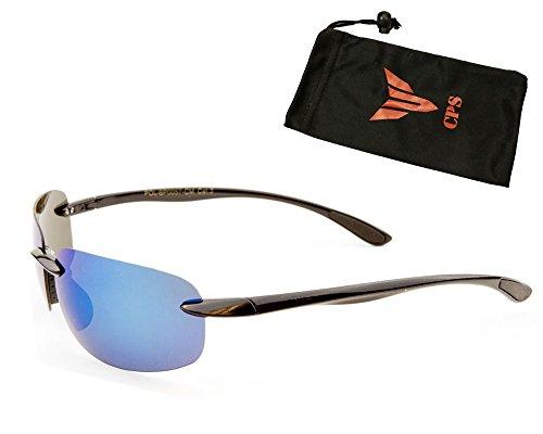POLARIZED Sunglasses Driving Glasses Flexable Lightweight Frame Mirror - Ass Sunglasses Bad