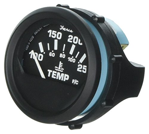 Faria Oil - Faria 12812 Water Temperature Gauge-100-250° F, Euro