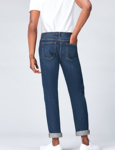 Find Dark Homme Droit Bleu regular Jean rwFxOr
