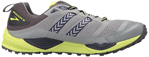 Multicolore Grey Chaussures 12 Course Cascadia Primer Lime de Brooks Homme Punch Anthracite 8UYxwcq