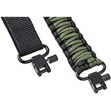 Gun Sling 550 Paracord - Rifle or Shotgun - 2 Point - Extra Strong Multi Use