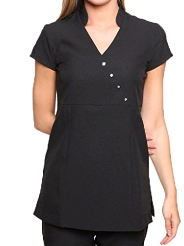 Mirabella Health and Beauty Clothing Women's Venus Hairdressing Spa Massage Tunic Uniform 14 ()