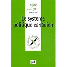 Système politique canadien (Le)