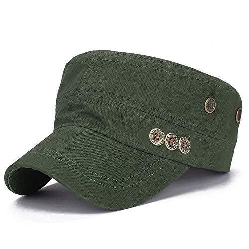 Men and Women Flat Caps Spring Fashion Buttons Cotton Hat Caps Hot Sale Visors Hats