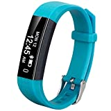 Coch Fitness Tracker, IP67 Waterproof Activity Tracker Watch,Sleep Monitor,Smart Fitness Band,Bluetooth Step Counter for Kids Women and Men (Green)
