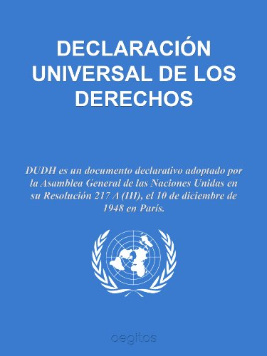 Descargar Libro Declaración Universal De Derechos Humanos Naciones Unidas