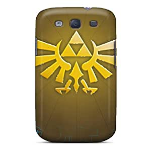 IanJoeyPatricia Samsung Galaxy S3 Scratch Resistant Cell-phone Hard Covers Allow Personal Design Beautiful Legend Of Zelda Art Trice Pictures [JRl12425aRkE]
