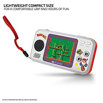 My Arcade Pocket Player Handheld Game Console: 3 Built In Games, Don Doko Don 1 and 2, Chack'n Pop, Collectible, Full Color Display, Headphone Jack, Battery or Micro USB Powered: Video Games