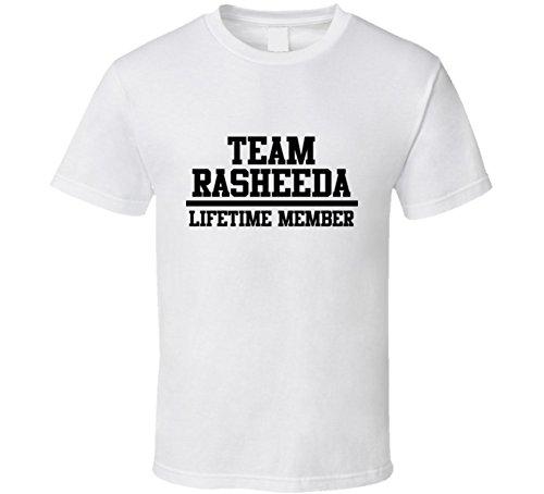 Team Rasheeda Lifetime Member Name Cool T Shirt S White