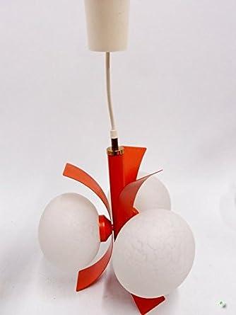 Art Orange BlancDesign En Boule Lampe Pop Suspension TlF1KcJ