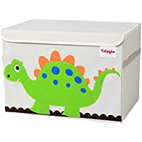Toy Storage Chest with Lid Storage Organizer Large Kid Storage Boxes Canvas for Storing Toys Books Beddings36 X 52 X 35…
