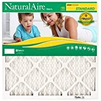 24x24x1, Naturalaire Standard Air Filter Merv 8, 84858.012424, Pack12 by NaturalAire