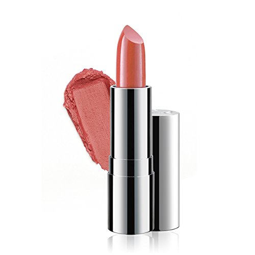 Super Moisturizing Lipstick by Luscious Cosmetics. Vegan and Cruelty Free - Creamy Rose - 0.12 (0.12 Ounce Lipstick)