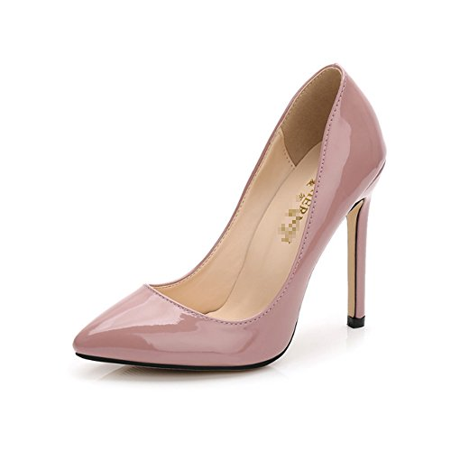 De Robe Nude Rose Cuir Pompes Candy Slip Renly Womens On Pu Couleur NnwOX0P8k