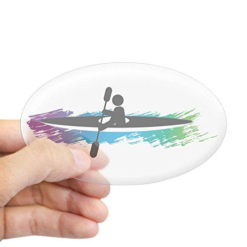 CafePress Kayak Simple Sticker Bumper