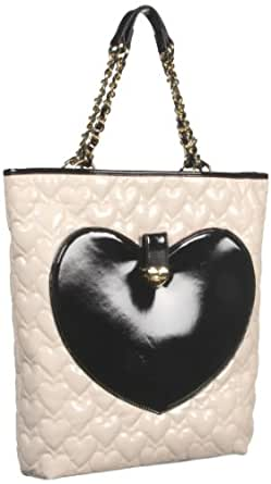 Betsey Johnson BH67825 Tote,Cream,One Size
