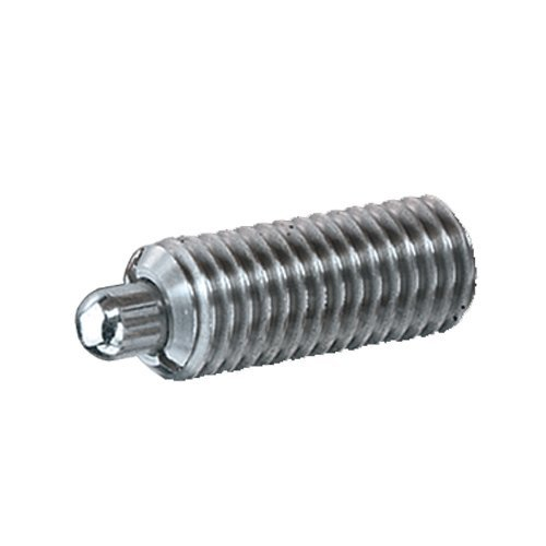 Inc. Ball /& Spring Plunger SSW10-2-316 Spring Plunger Standard End Force S/&W Manufacturing Co