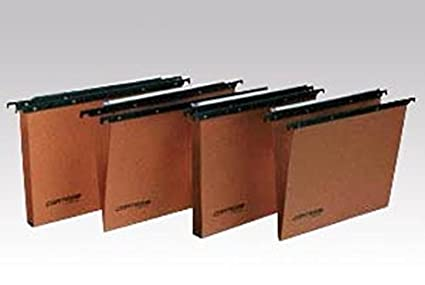 Bertesi Cartesio Naranja archivador colgante - Carpeta (Naranja)