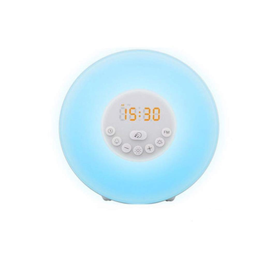 TD Wake Up Light, Multifunction Radio Wake-up Light Led Sleeping Lamp Night Light Q0007