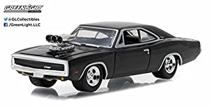 greenlight 1 64 gl muscle series 17 1970 dodge charger with blower toys games. Black Bedroom Furniture Sets. Home Design Ideas