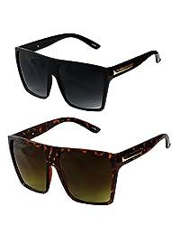 YouJi Vintage Square Frame HD Polarized Sunglasses Mens Women Driving Eyeglasses Lot QP2Gm0SP