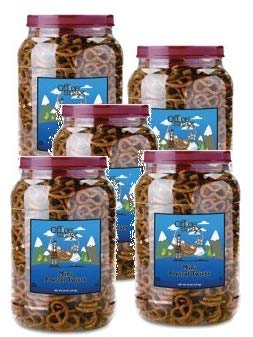 Office Snax, OFX00082, Old Fashioned Mini Twist Pretzels, 1 Each (Pack of 5) by Office Snax (Image #3)