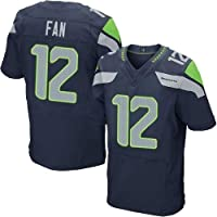 ZJFSL NFL Jersey de fútbol Hombres Mujeres Seattle Seahawks Elite Edition Jersey de fútbol Bordado Camiseta de Manga Corta Camiseta Deportiva # 3# 12 Game Jersey