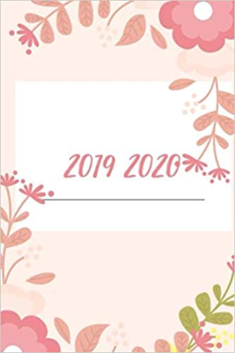 2019 2020: agenda planner 2019 2020 I agenda universitaria ...