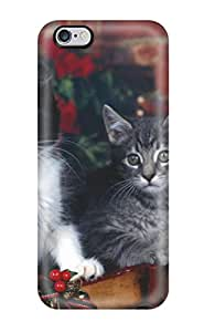 Tina Chewning's Shop Top Quality Rugged Cats In A Sleigh Case Cover For Iphone 6 Plus