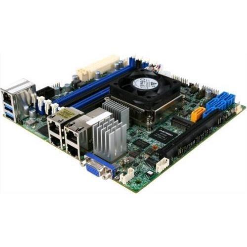 3-COM Supermicro X10sdv-tln4f-b - Intel Xeon D-1540 Mini-ITX Motherboard & CPU Combo, Support DDR4, PCIE3.0, USB3.0 (Usb Xeon Motherboard)