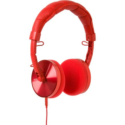 Nixon Nomadic Headphones Red Demo, One Size