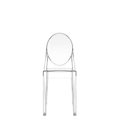 Amazon.com - Set 2 Kartell Victoria Ghost Transparent Crystal Chair ...