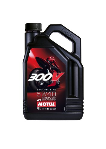Motul 300V 4T Competition Synthetic Oil - 5W40 - 4L. 836041 / 101343