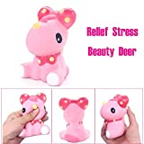 Squishy Simulation Beauty Deer, Simulation Beauty Deer Super Slow Rising Scented Relieve Stress Toy