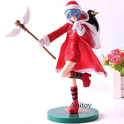 Amazon.com: 21cm (8.3 inch) Evangelion PVC Figure ...
